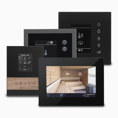 Sauna control units for your perfect sauna experience