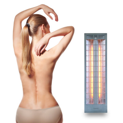 Infrared heaters thermofabric for finnish saunas & infrared heat cabins