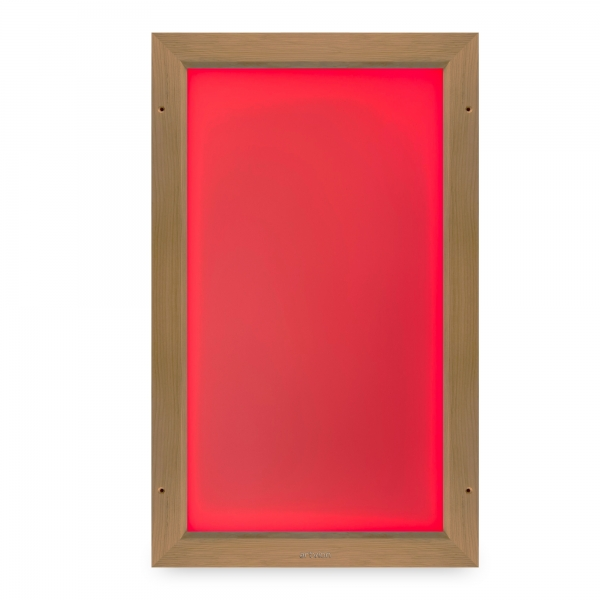 Sauna color panel poetic 30 alder
