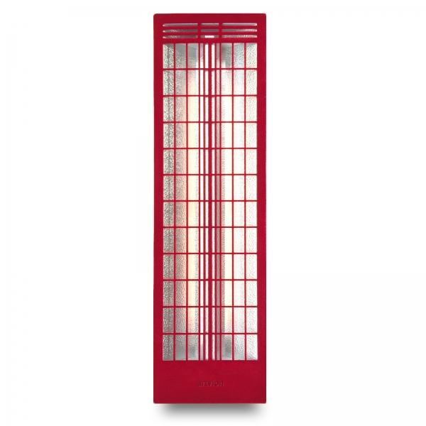 Infrared heater Fabric back RS Red Large
