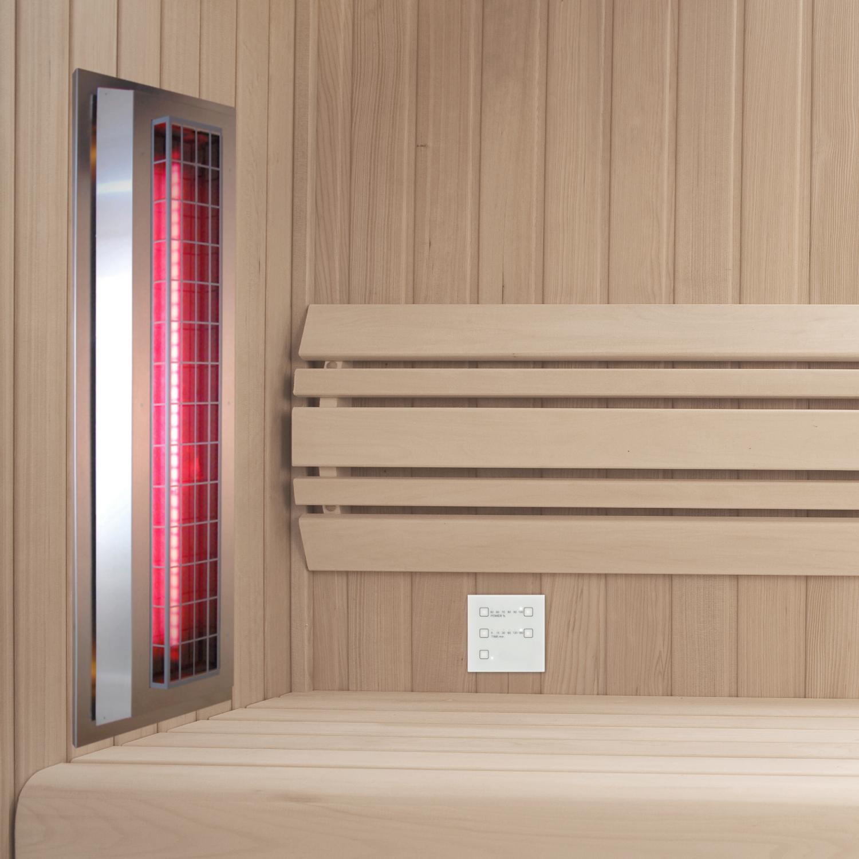 infrarotstrahler set gkw ap dt1 aufputz glaskeramik weiss f r sauna saunahaus com. Black Bedroom Furniture Sets. Home Design Ideas