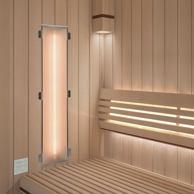 infrarotstrahler set gkw dt1 glaskeramik weiss f r sauna saunahaus com. Black Bedroom Furniture Sets. Home Design Ideas