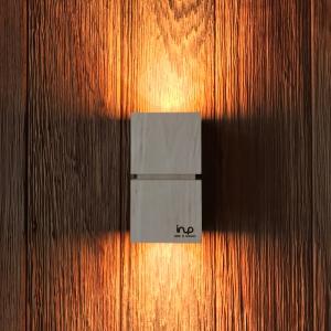 inup design Saunaleuchte LED, Erle