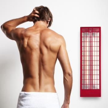 Infrarotstrahler RS-Rückenstrahler ABC Rot