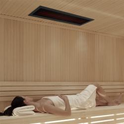 Infrarotstrahler-Set 2.GKR-AR-DT3 Glaskeramik RotLicht für Sauna