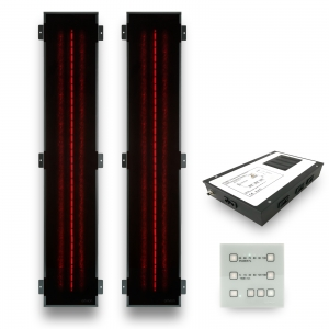 Infrared heater sauna RedLight Basic Set-2