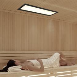 Infrarotstrahler-Set WeissLicht 2WL-RS-DT3 Glaskeramik für Sauna