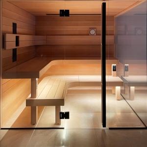 inup Sauna Led Streifen ProfiBus Warmweiss Set 2000