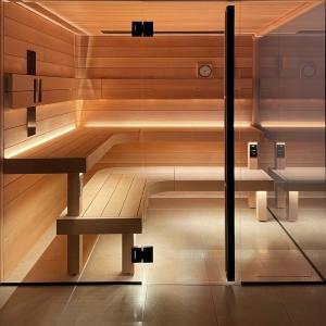 inup Sauna Led Streifen ProfiBus Warmweiss
