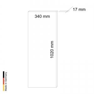 Infrarotstrahler Sauna Paneel P1 Black Frame