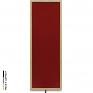 Infrared heater sauna Panel P1 Red Frame