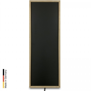 Infrared heater sauna Panel P1 Black Frame