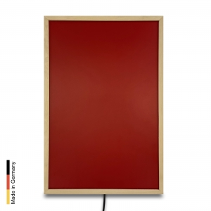 Infrared heater sauna Panel P2 Red Frame