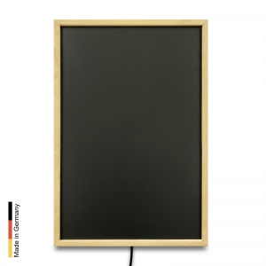 Infrared heater sauna Panel P2 Black Frame