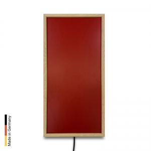 Infrared heater sauna Panel P3 Red Frame