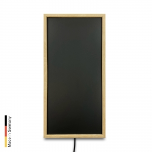 Infrared heater sauna Panel P3 Black Frame