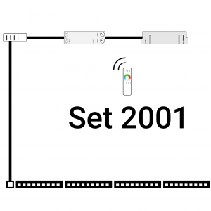 inup Sauna Led Streifen ProfiBus RGB Set 2000