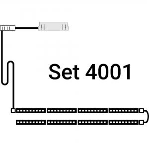 inup Sauna Led Streifen ProfiBus Warmweiss Set 4000