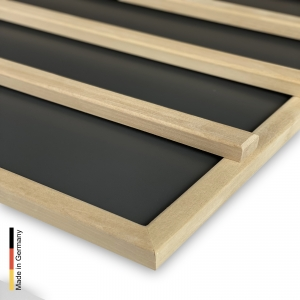 Infrarotstrahler Sauna Paneel P2 Black Rückenlehne