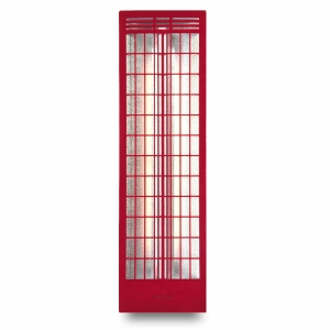 Infrarotstrahler Thermostoff Back Red Large