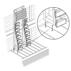 Rückenlehne für Infrarotstrahler Comfort+