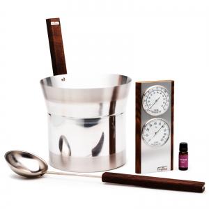Sauna infusion set Tylö premium black