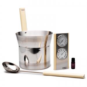 Sauna infusion set Tylö premium white