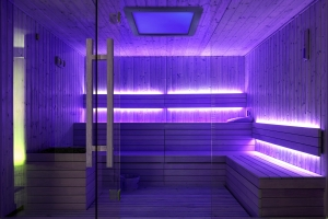Sauna Farbpaneel poetic 50 Espe