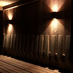 inup design Saunaleuchte LED, Thermo Esche