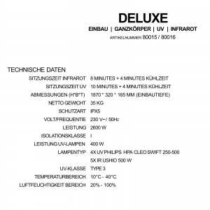 Sunshower Deluxe Black